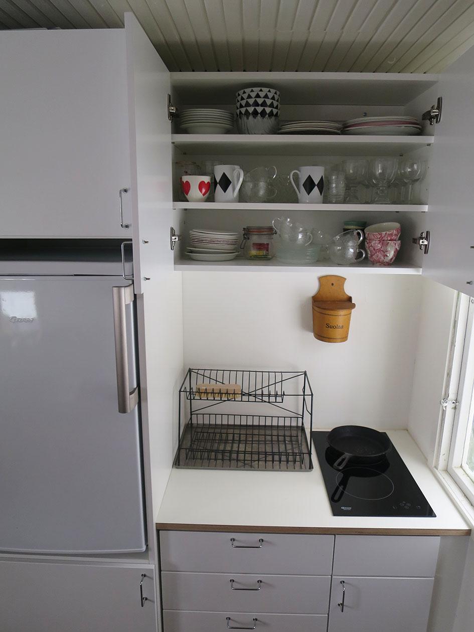 Kotimainen keittiö Pikkumökille  Kemikaalicocktail