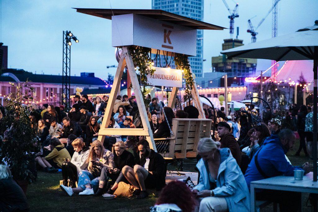 flow festival, kierrätys, uusiokäyttö, kestävä kehitys