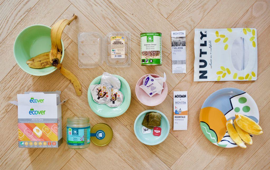 kierrätys muovipakkauskeräys biojäte